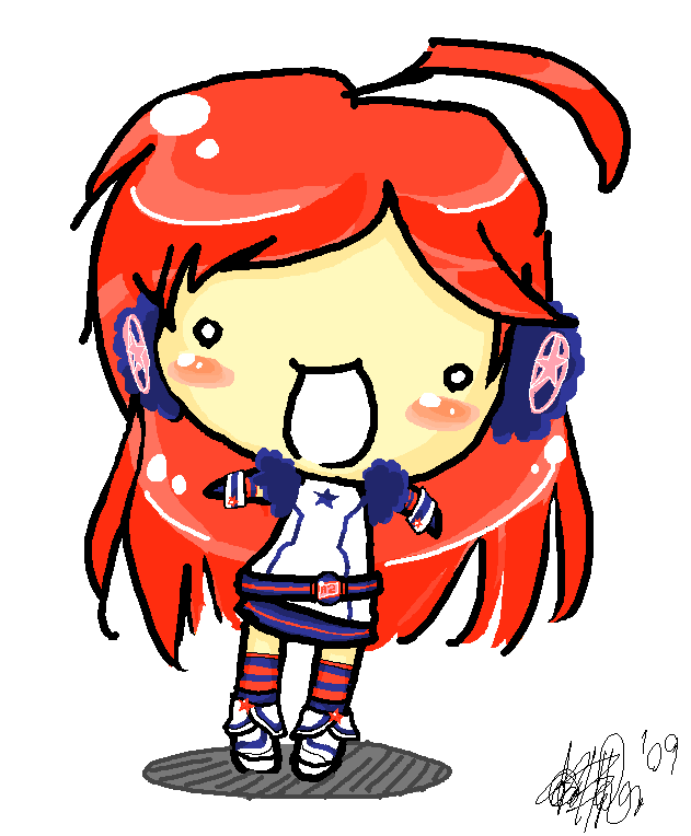 Vocaloid MIKI chibi by...