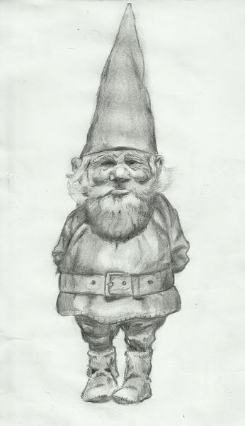 Gnome by joga-maciejsdottir