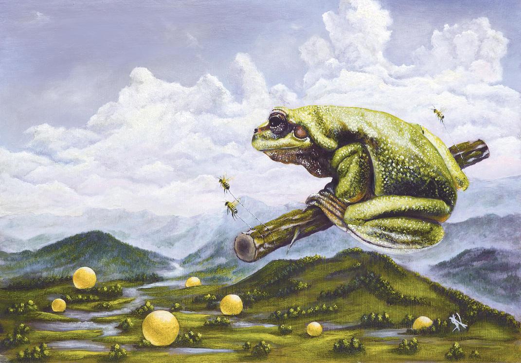 Traum eines Frosches by shanysh
