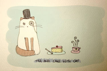 Tea and Cake with Catt