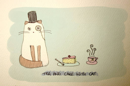 Tea and Cake with Catt