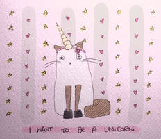 I Want to be a Unicorn by delusional-dreams