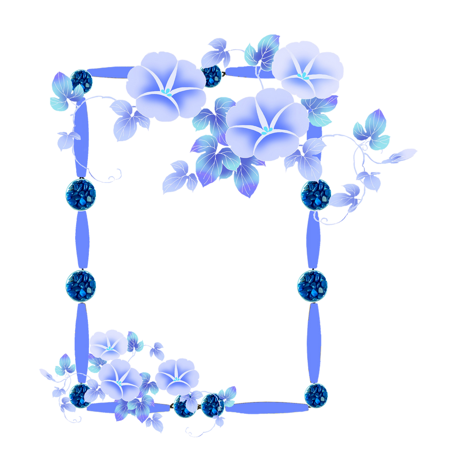 Frame Png Deviantart Frame Png With Flowers by