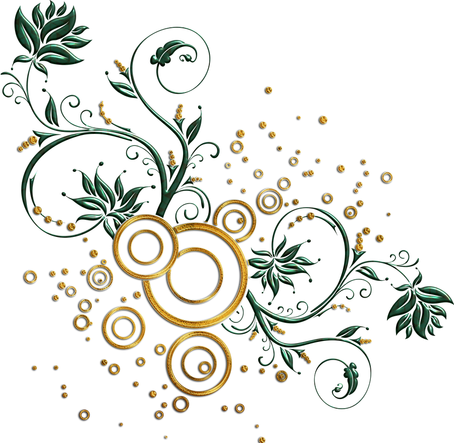 Leaves And Swirls Png By Melissa-tm On DeviantArt