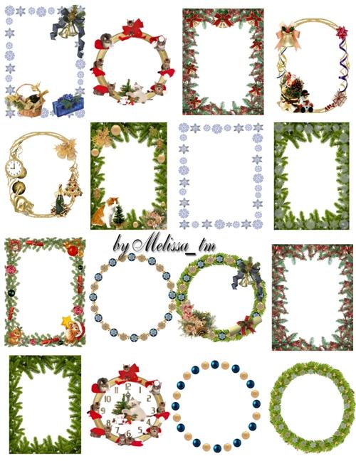 new year frames for decor by Melissa-tm on DeviantArt