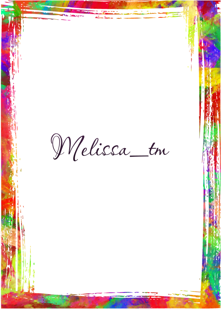 watercolour frame png by Melissa-tm on DeviantArt