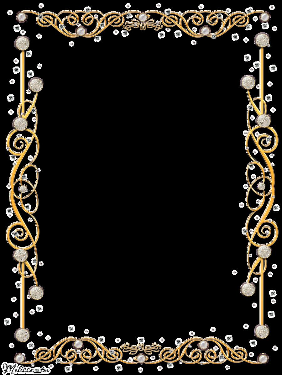 golden frame with gems png by Melissa-tm on DeviantArt