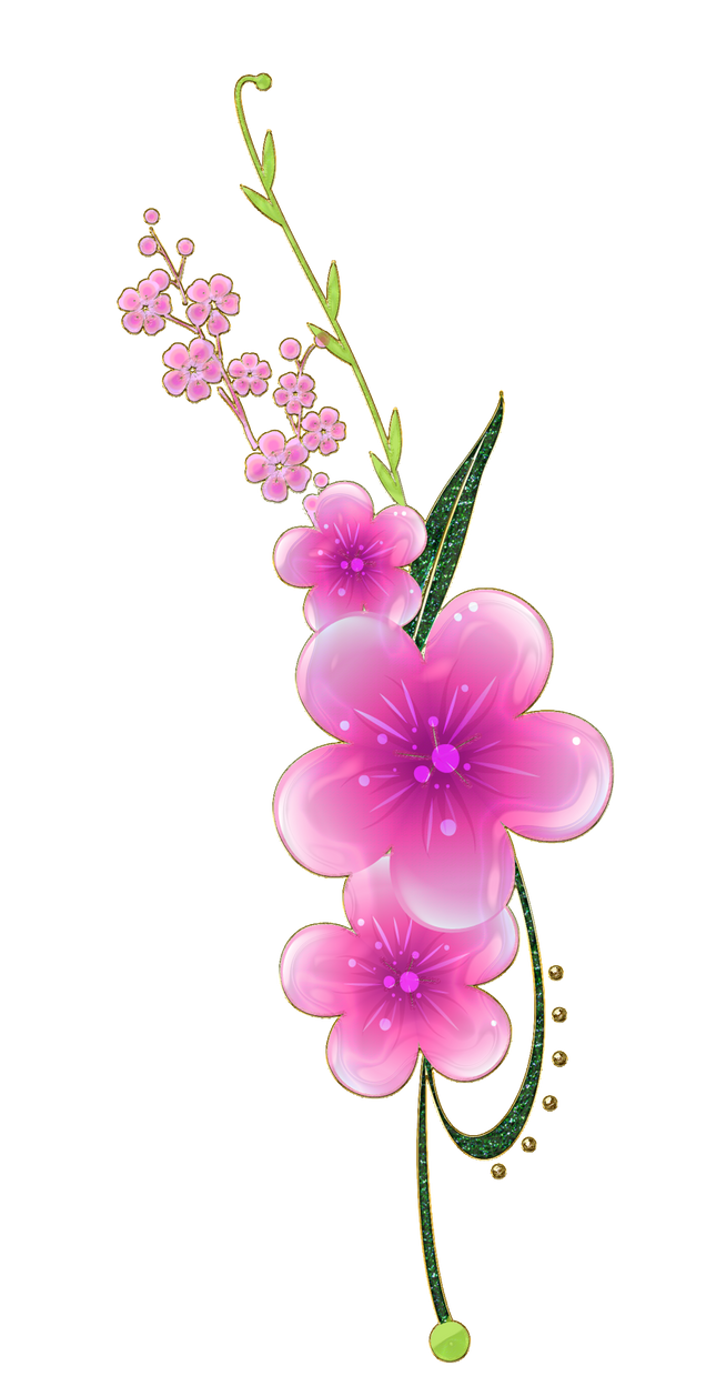Sweet pink flowers png by melissa tm on deviantart sweet pink flowers png by melissa tm mightylinksfo Image collections