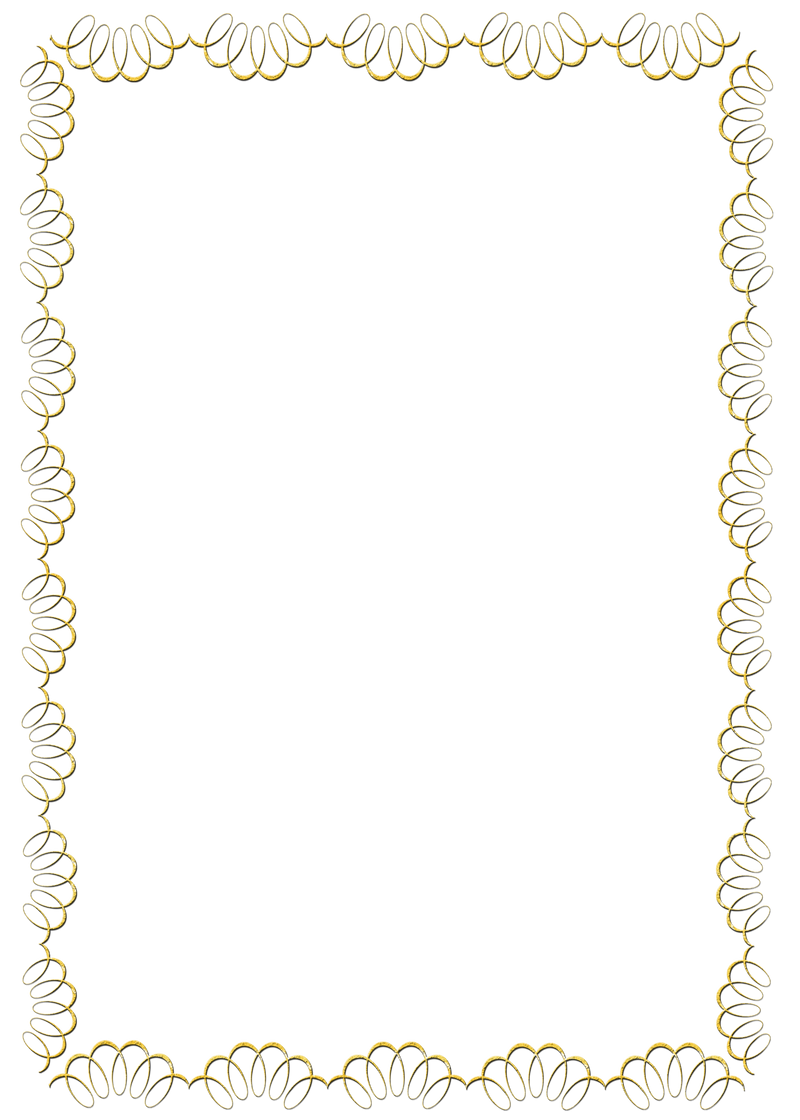 Gold swirl frame png by melissa tm on deviantart for Border lace glam