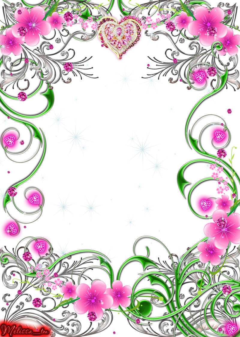 Frames png psd by melissa tm on deviantart melissa tm 3 0 frame swirls with flowers and gems png by melissa tm jeuxipadfo Choice Image