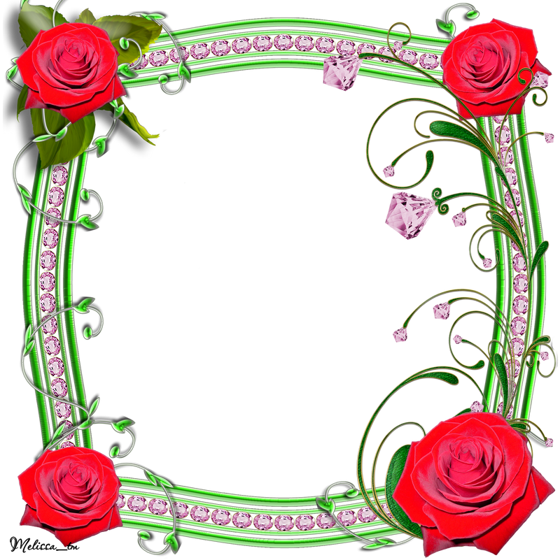 Frame Png Deviantart Frame Roses With Swirls Png by