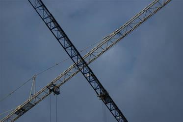 Cross cranes by sirJooZ