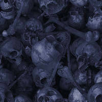 Blue Skulls Tile by FatalEternal