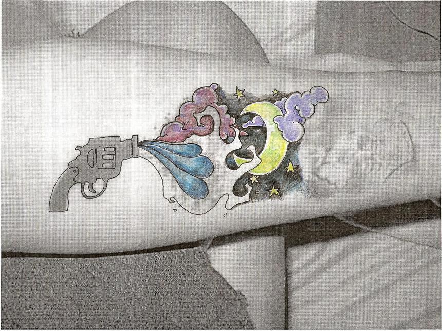 tattoo design 3 - sleeve tattoo