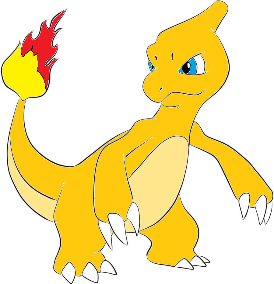 Pokemon charmeleon shiny