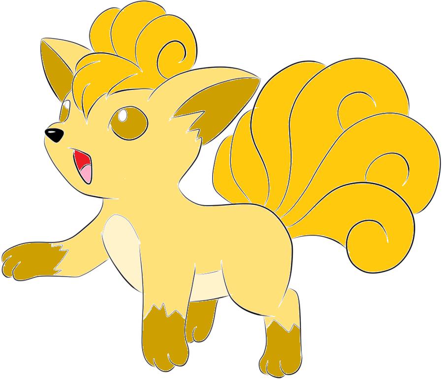 Shiny Vulpix Shiny vulpix by sakuraalexia