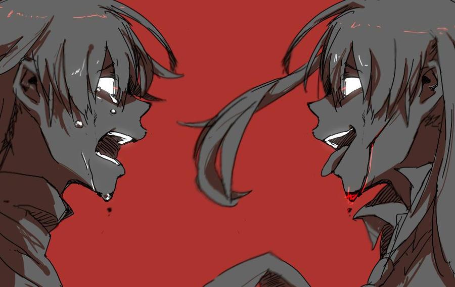 Insane Maka~~ Crying Soul by SoulCatcher28