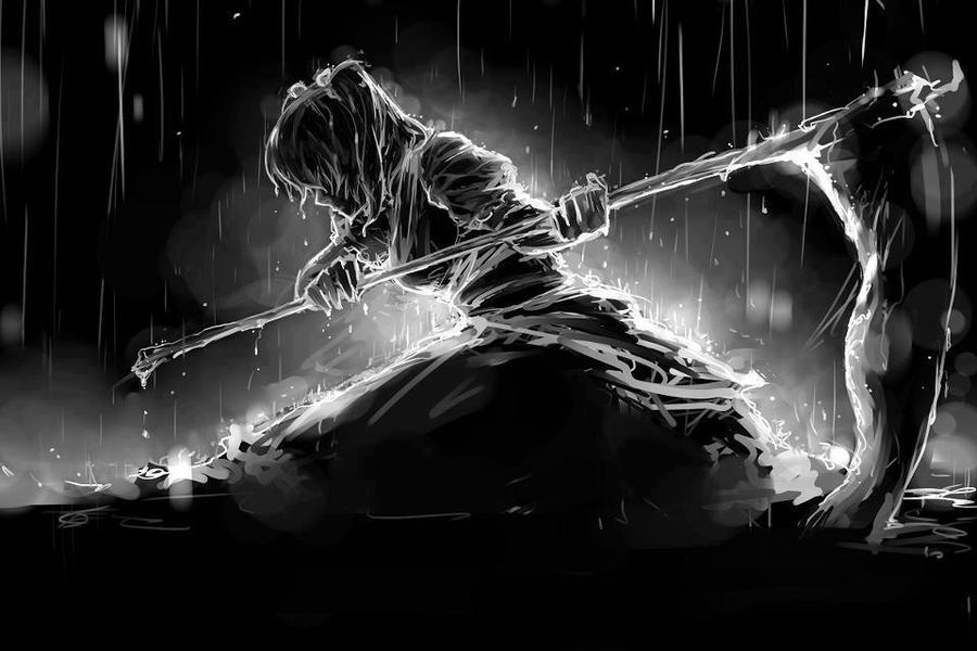Maka in the Rain~~ by SoulCatcher28