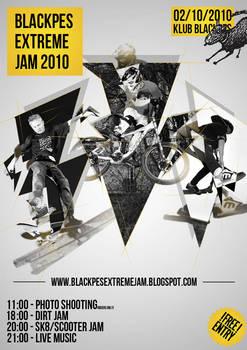 Black pes extreme jam poster