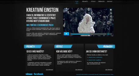 Creative Einstein promo web