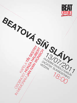 Radio beat poster