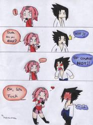 Sasuke... You are GAY? by KaylaNostrade