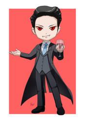 Commission: Chibi Vampire