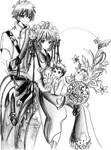 Syaron and Sakura