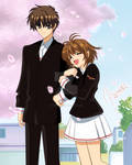 Sakura y Shaoran Card Captor Sakura
