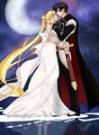 Usagi and Mamoru - Sailor Moon Crystal