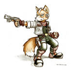 Fox McCloud sketch- March