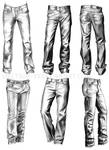 Clothing Study: Jeans