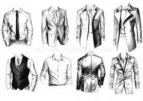 A study in formal wear by Spectrum-VII
