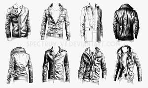A study in jackets 2- military style by Spectrum-VII