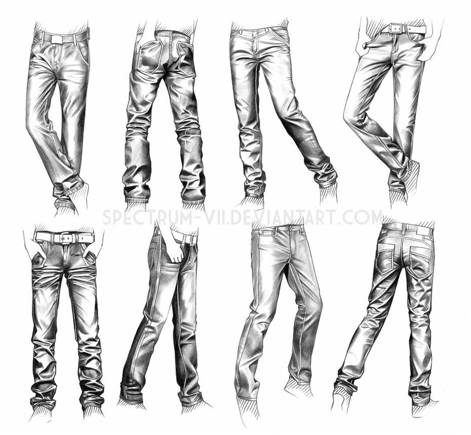 A study in jeans by Spectrum-VII