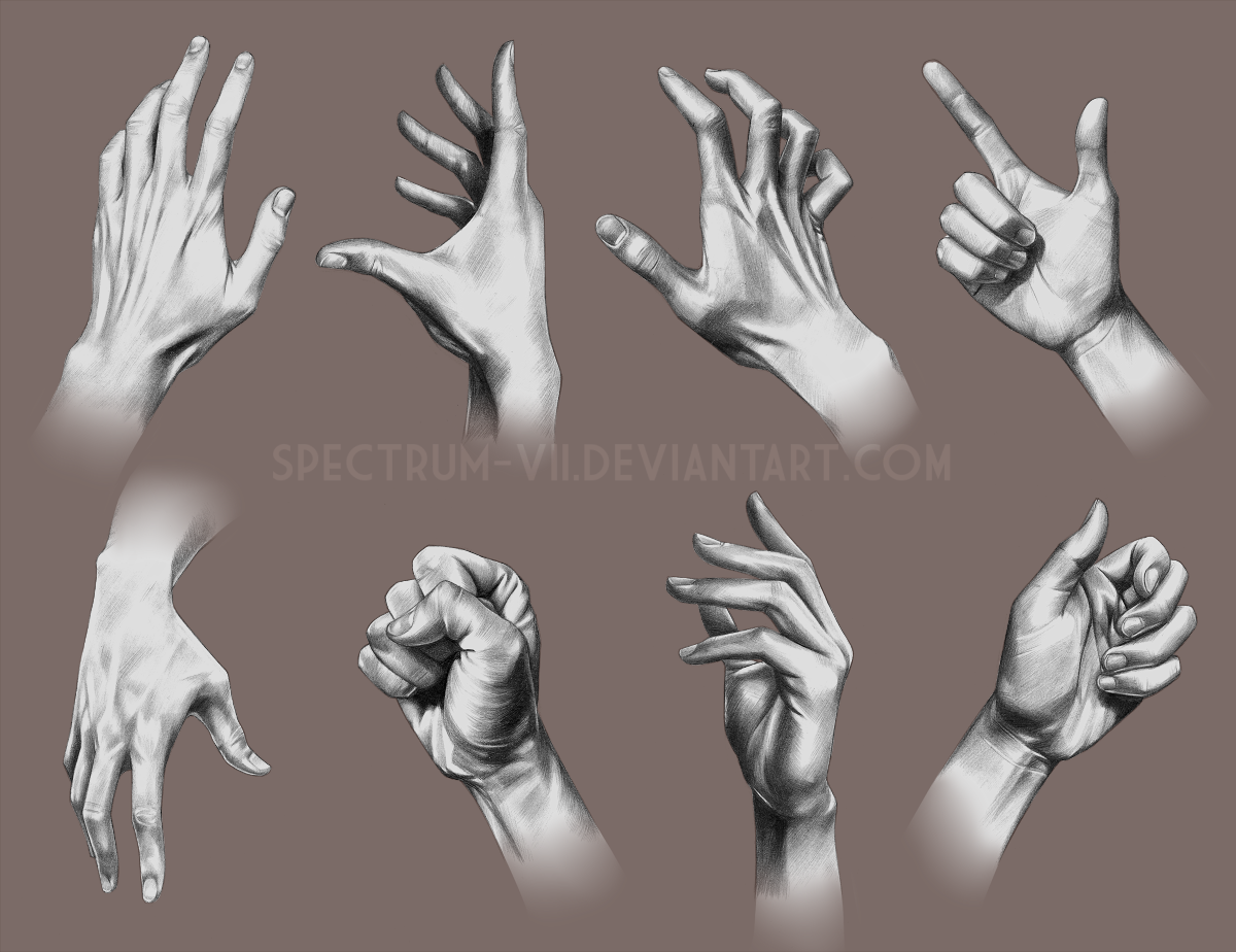 A study in hands 2
