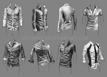 A study in shirts by Spectrum-VII
