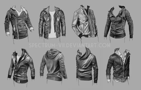 Clothing Study - Jackets 3