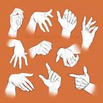 Life study: Hands