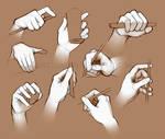 Life study: hands 2