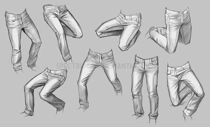 Life study-- jeans