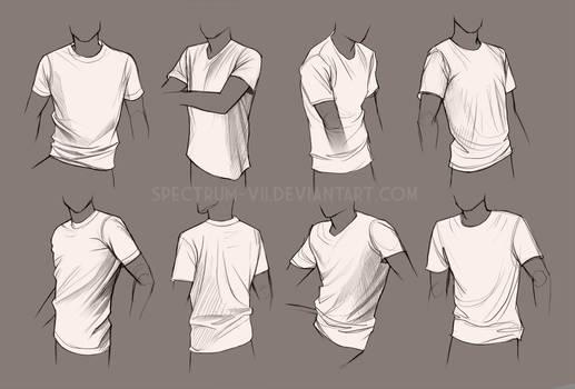 Life study-- shirts 2