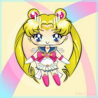 Sailor Moon Chibi by ElVulva