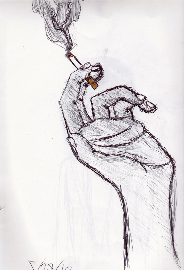 Watch My Cigarette Smoke By Melovebeanpole