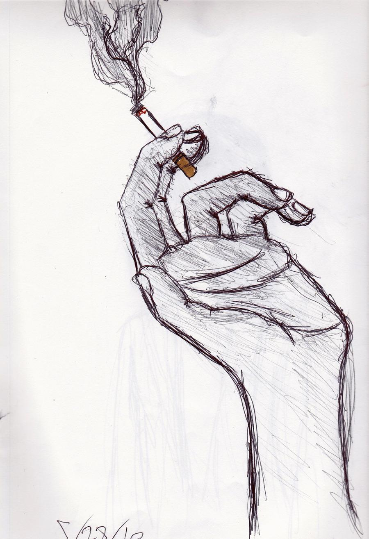 Watch My Cigarette Smoke By Melovebeanpole On DeviantArt