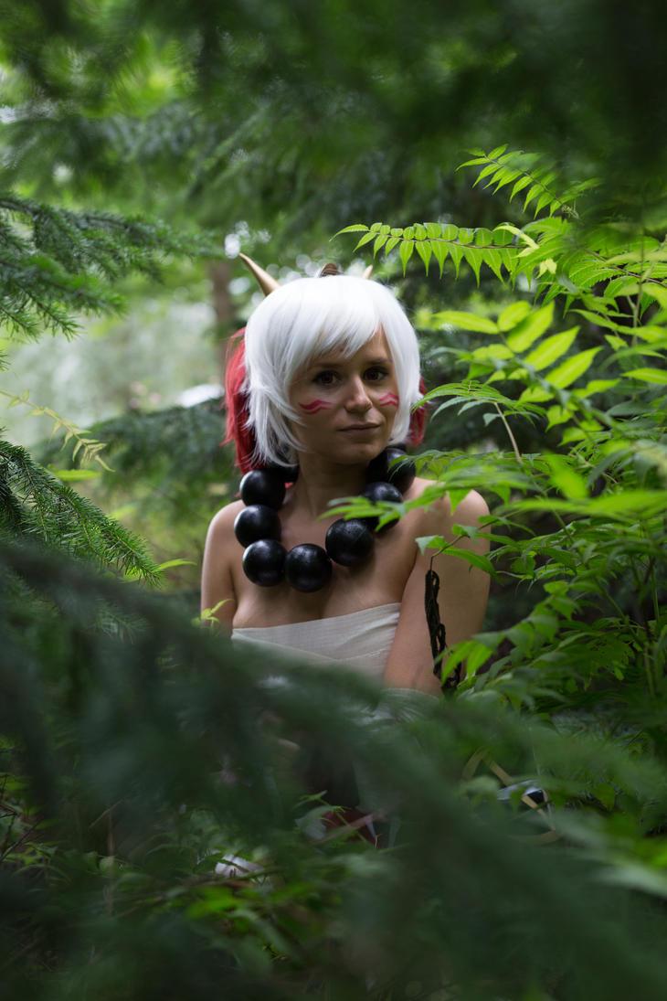 In the Mokushu Forest by Luminezence
