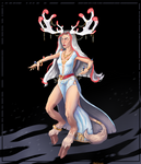 [CLOSED] Adoptable auction: Druid girl :3 by Eitteliah