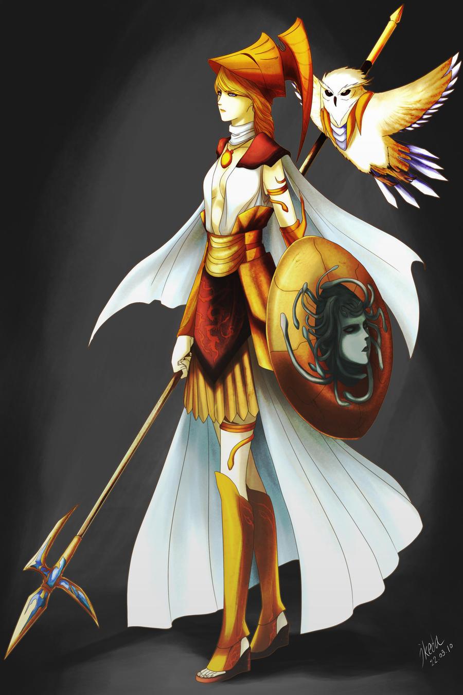 AO Contest - Athena Concept by ikeda