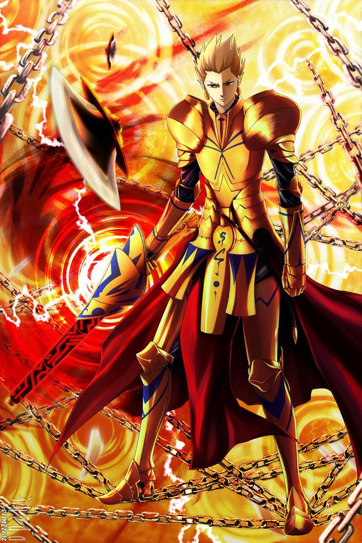 king of heroes by ikeda on deviantart