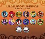 League of Legends Button Set